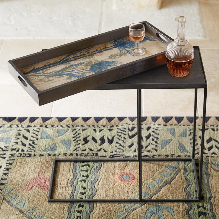 BOTANIQUE TRAY SIDE TABLE