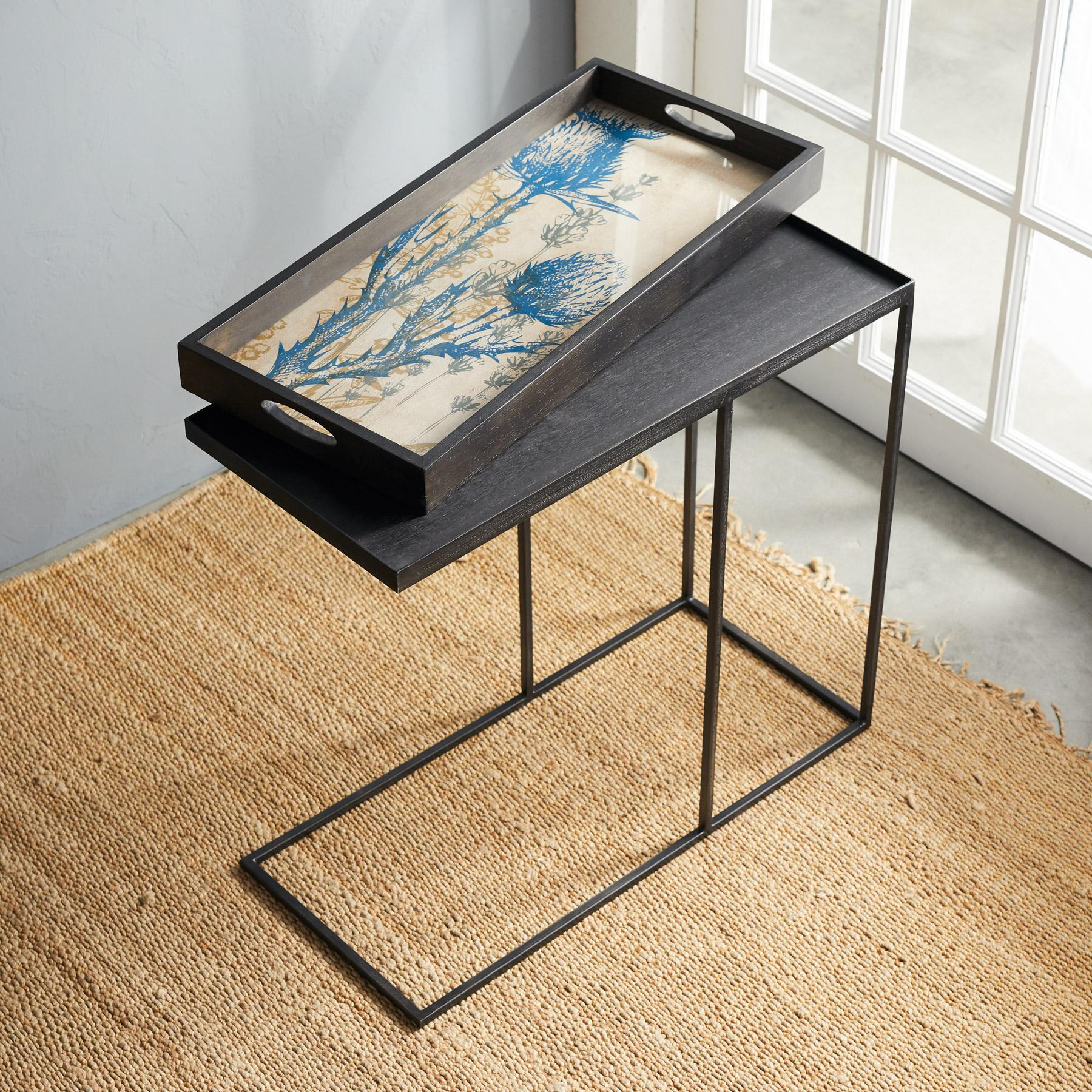 BOTANIQUE TRAY SIDE TABLE: View 2