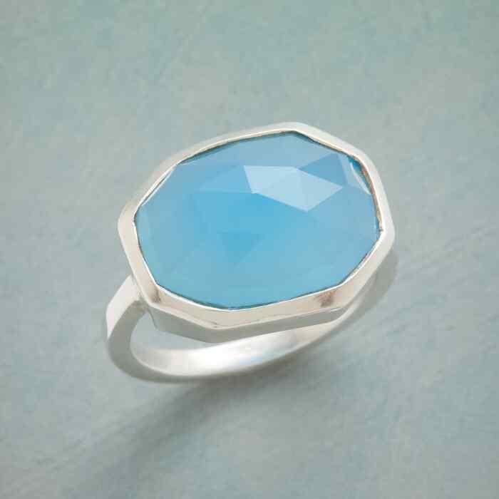 BLUE ICEBERG RING