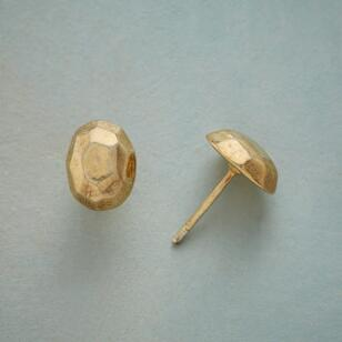 FACETED DOME EARRINGS