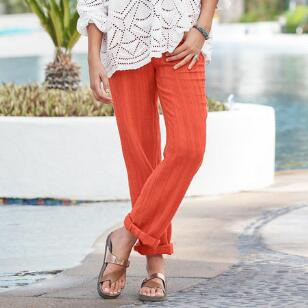 CORAL SOLID GIGI PANTS