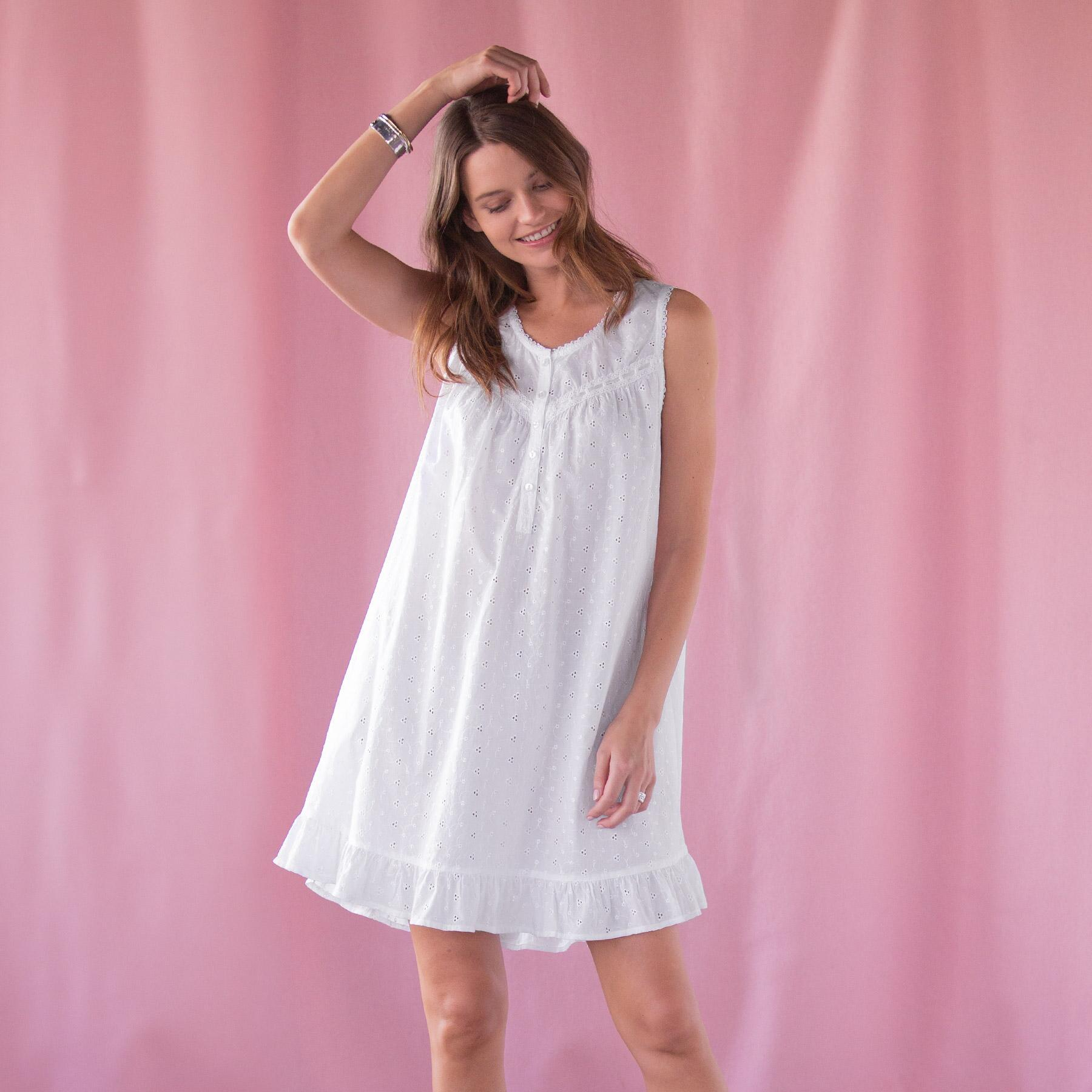 EVER SWEET EYELET NIGHTGOWN: View 1