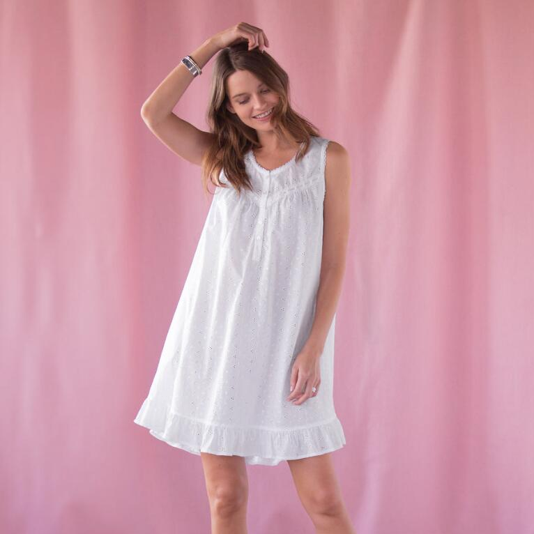 EVER SWEET EYELET NIGHTGOWN