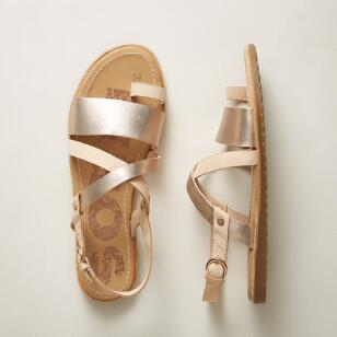 ELLA CRISSCROSS SANDALS