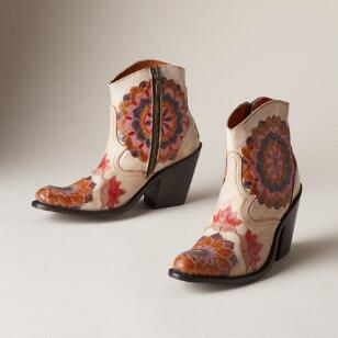 PAINTED BLOSSOM BOOTS