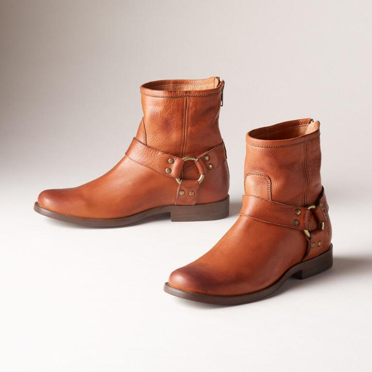 PHILLIP HARNESS SHORT BOOTS