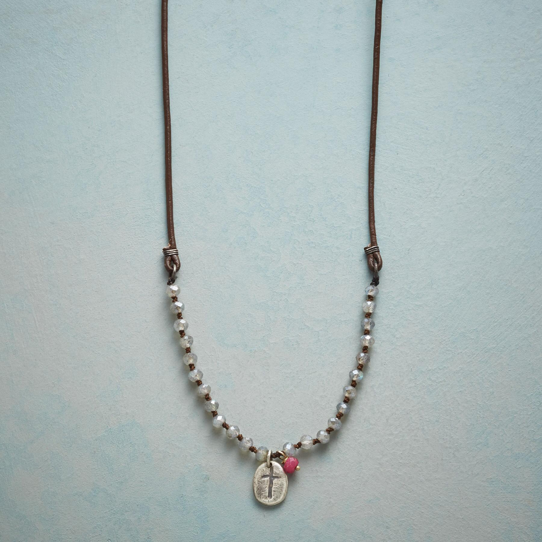 HAVE FAITH IN LOVE NECKLACE: View 1