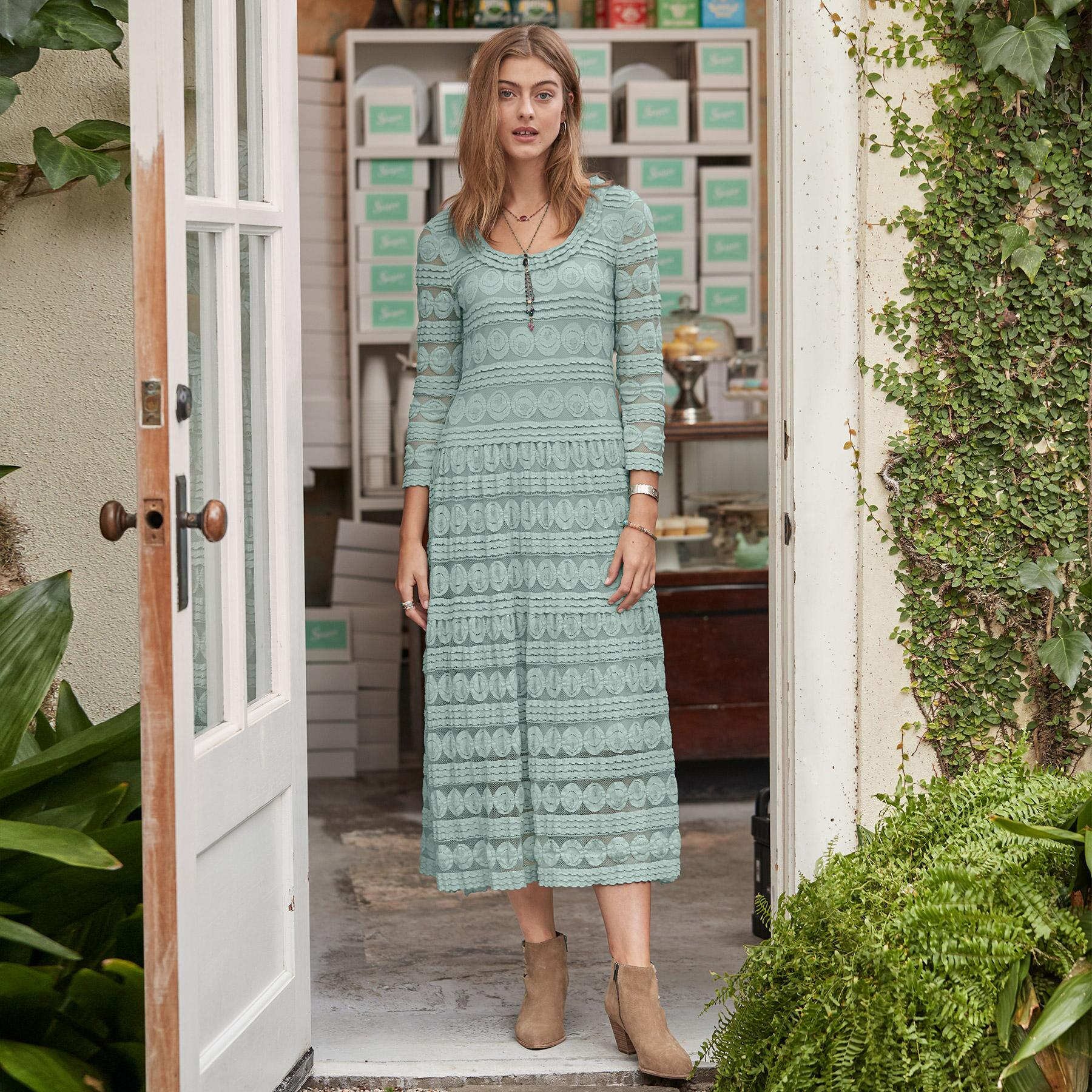 WILLOW LACE DRESS - PETITES: View 2