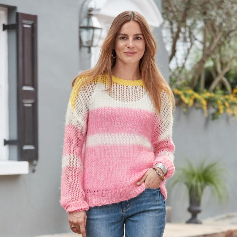JULIA STRIPE PULLOVER