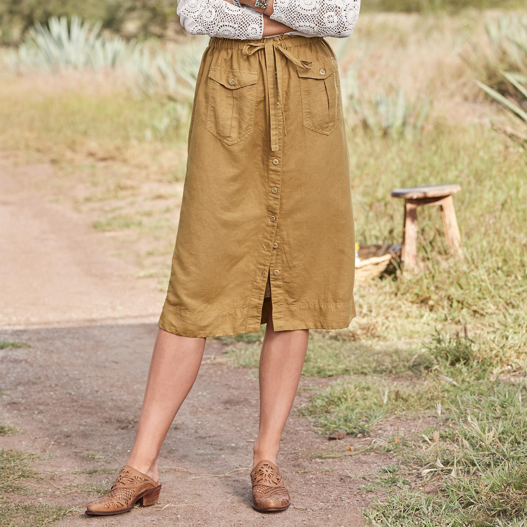HAILEY CARGO SKIRT: View 1