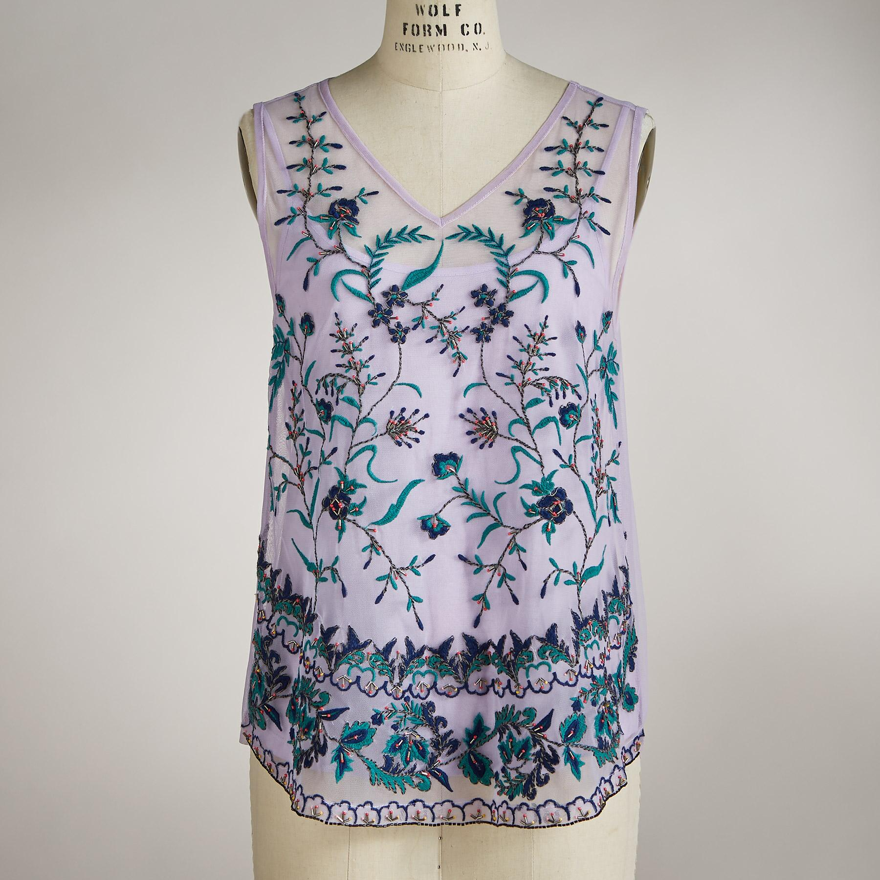 MEADOW FLORALS TANK: View 2
