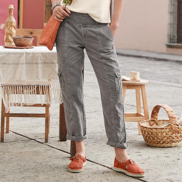 MORE THAN CARGO PANTS - PETITES