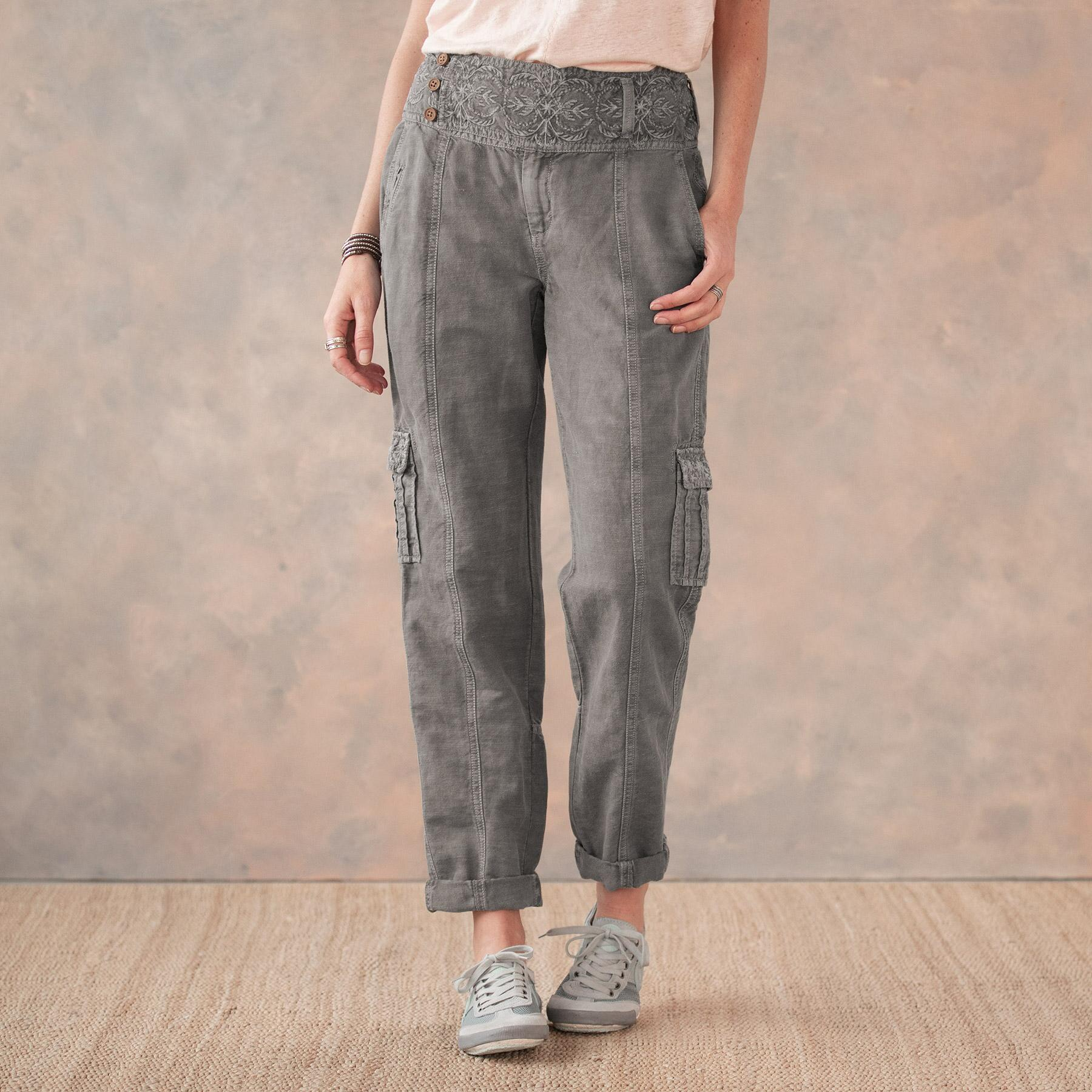 MORE THAN CARGO PANTS - PETITES: View 2