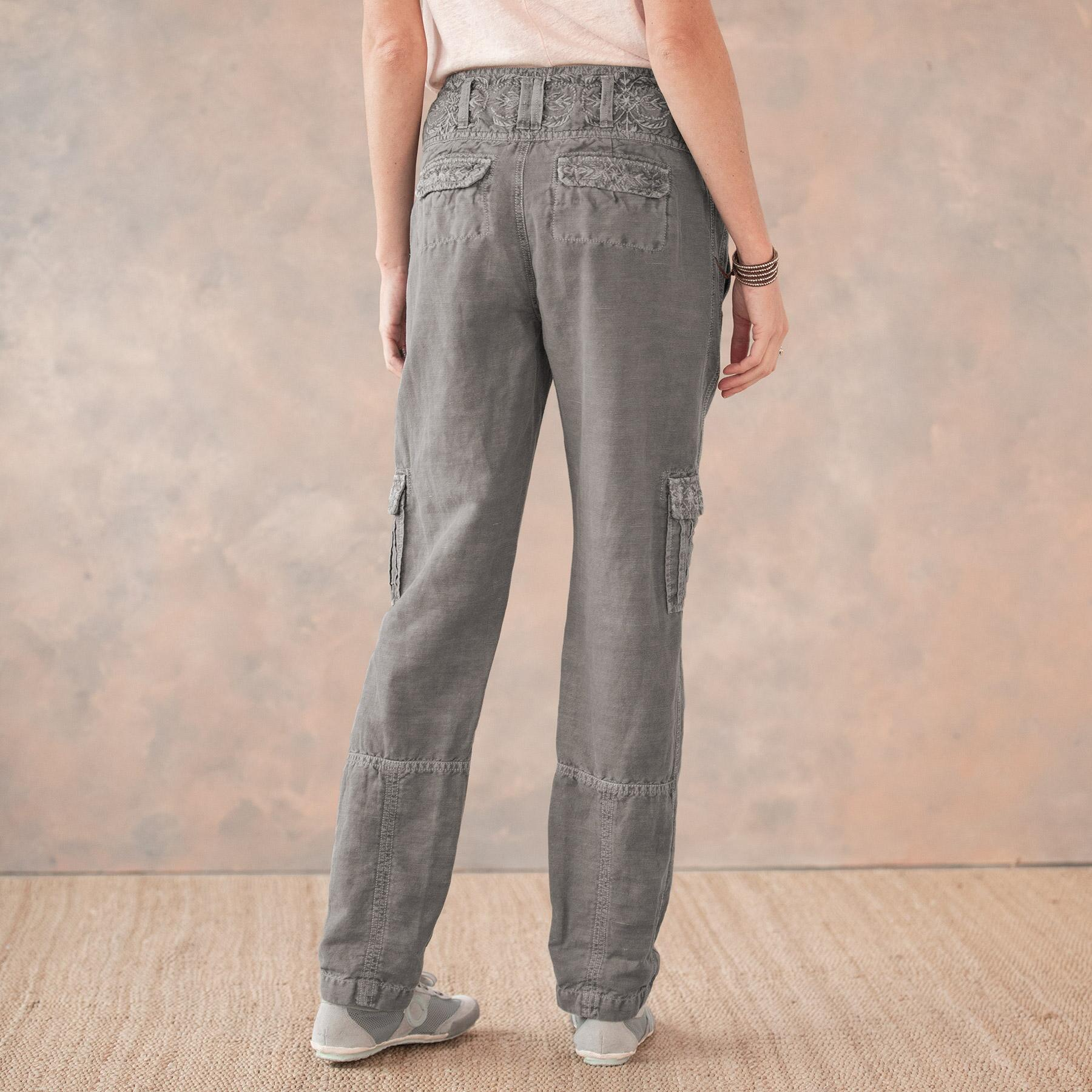 MORE THAN CARGO PANTS - PETITES: View 4