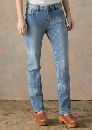 BELLA ETCHED JEANS