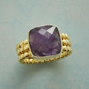 AMETHYST SPLENDOR RING