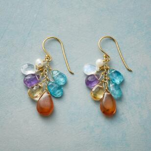 MEADOWFLOWER AND HONEY EARRINGS
