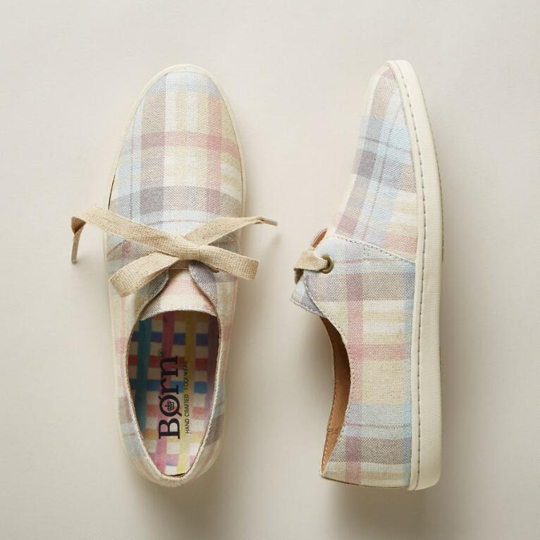 DATIL PLAID SNEAKERS