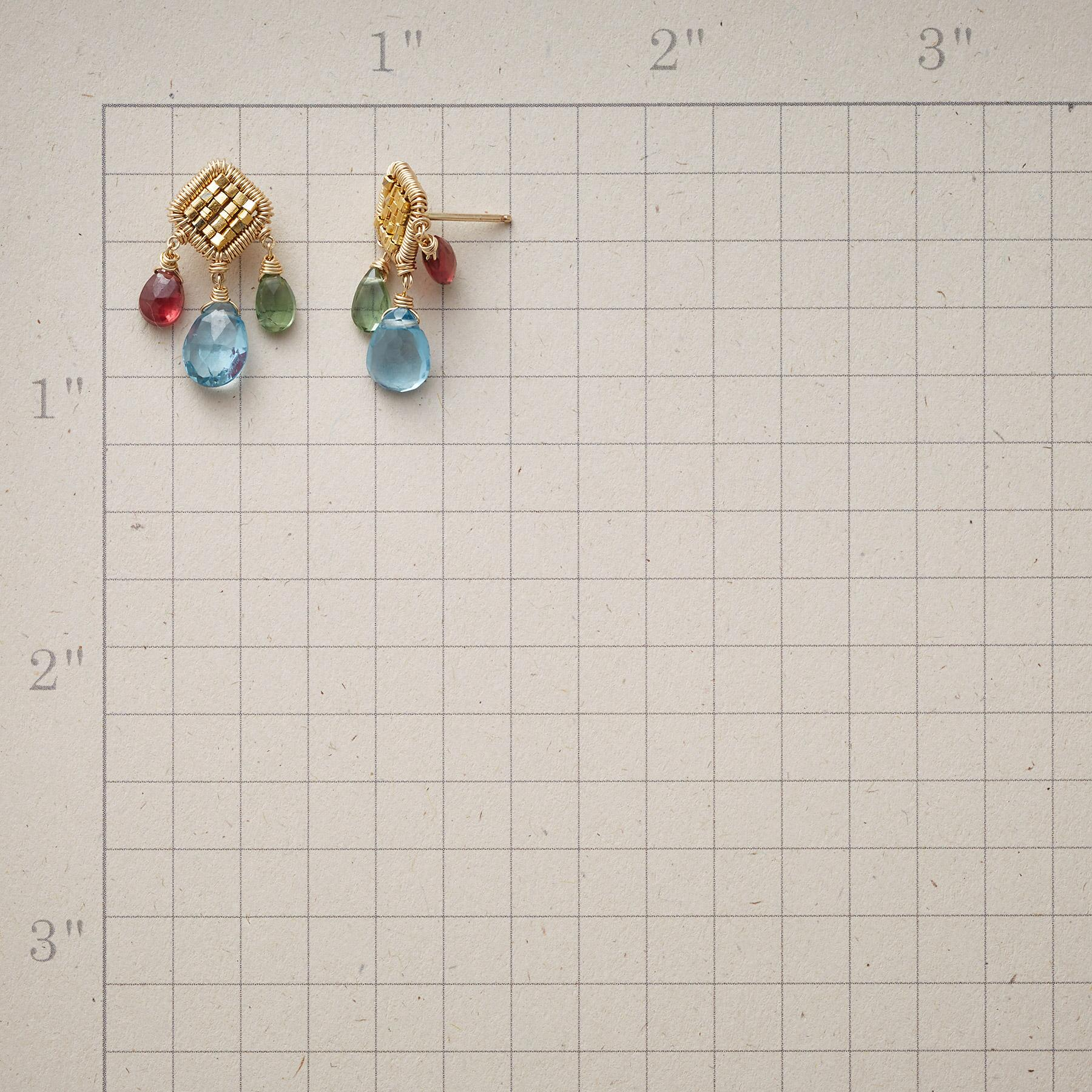 CUBED GEMS EARRINGS: View 2
