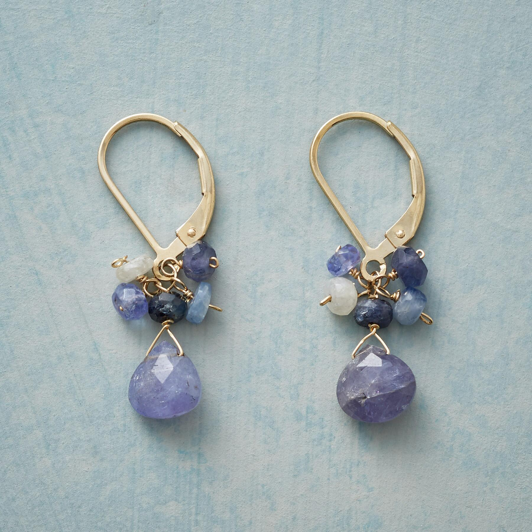 PERIWINKLE EARRINGS: View 1