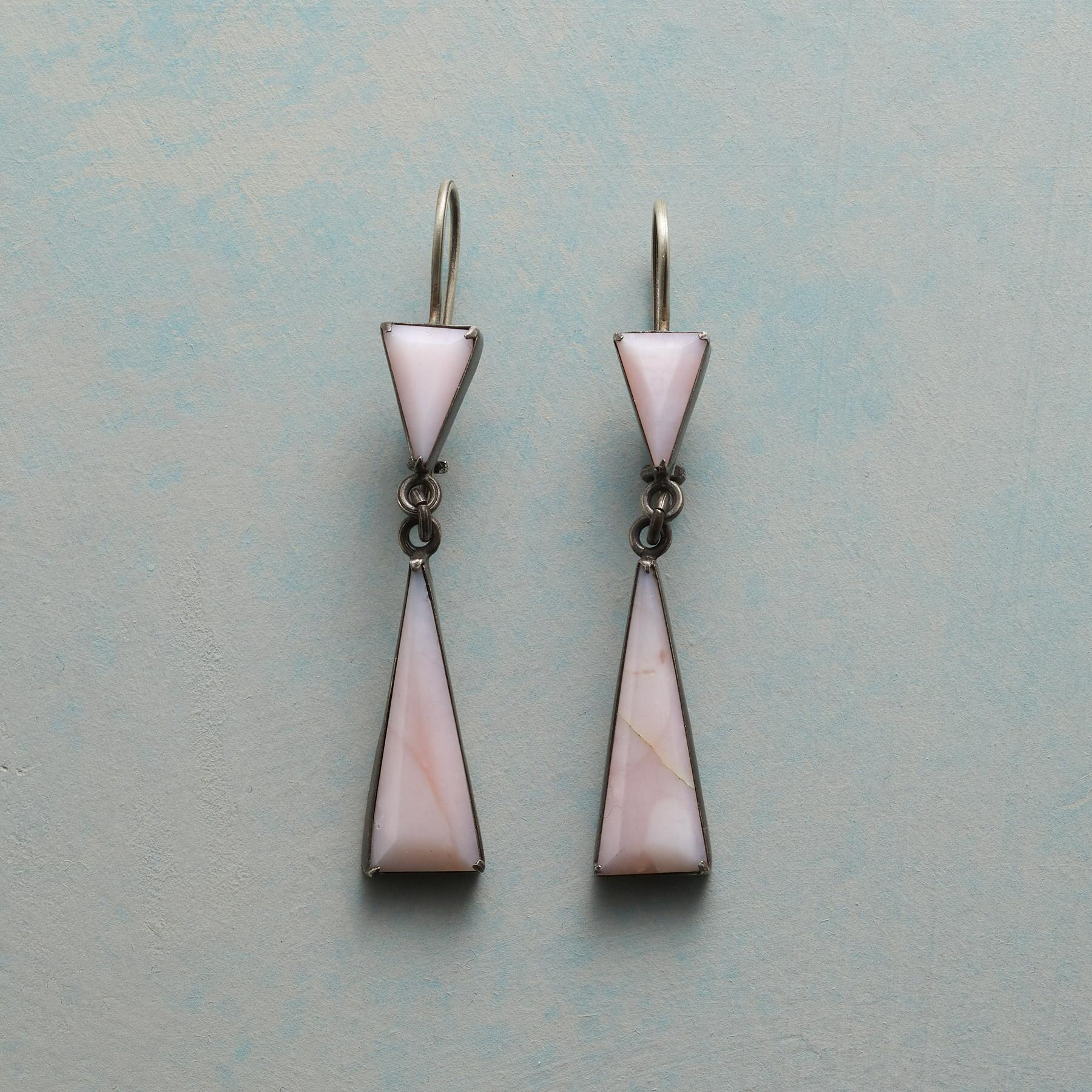 PINK EN POINTE EARRINGS: View 1