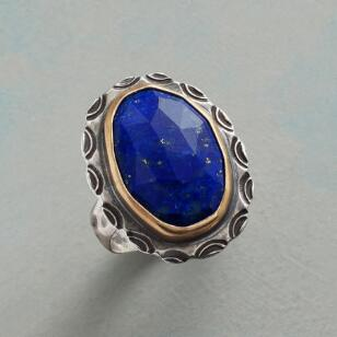 BOUNDLESS BLUE RING