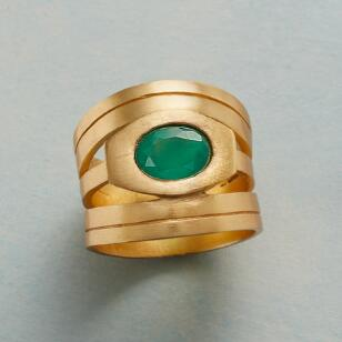 WINK OF GREEN RING