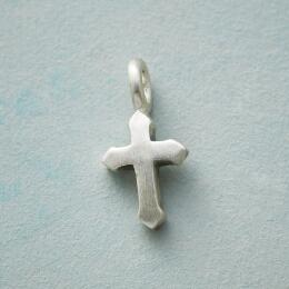 CHARMED STERLING SILVER CROSS