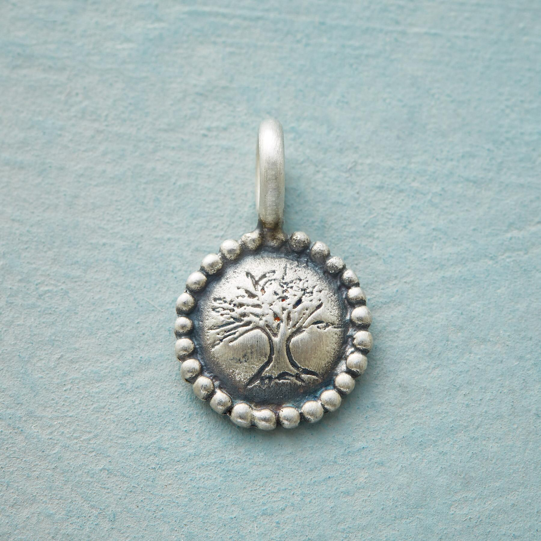 CHARMED STERLING SILVER TREE OF LIFE: View 1