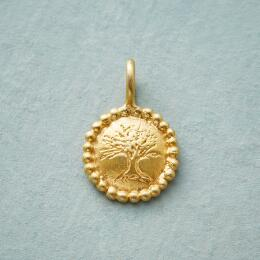 CHARMED GOLD PLATE TREE OF LIFE