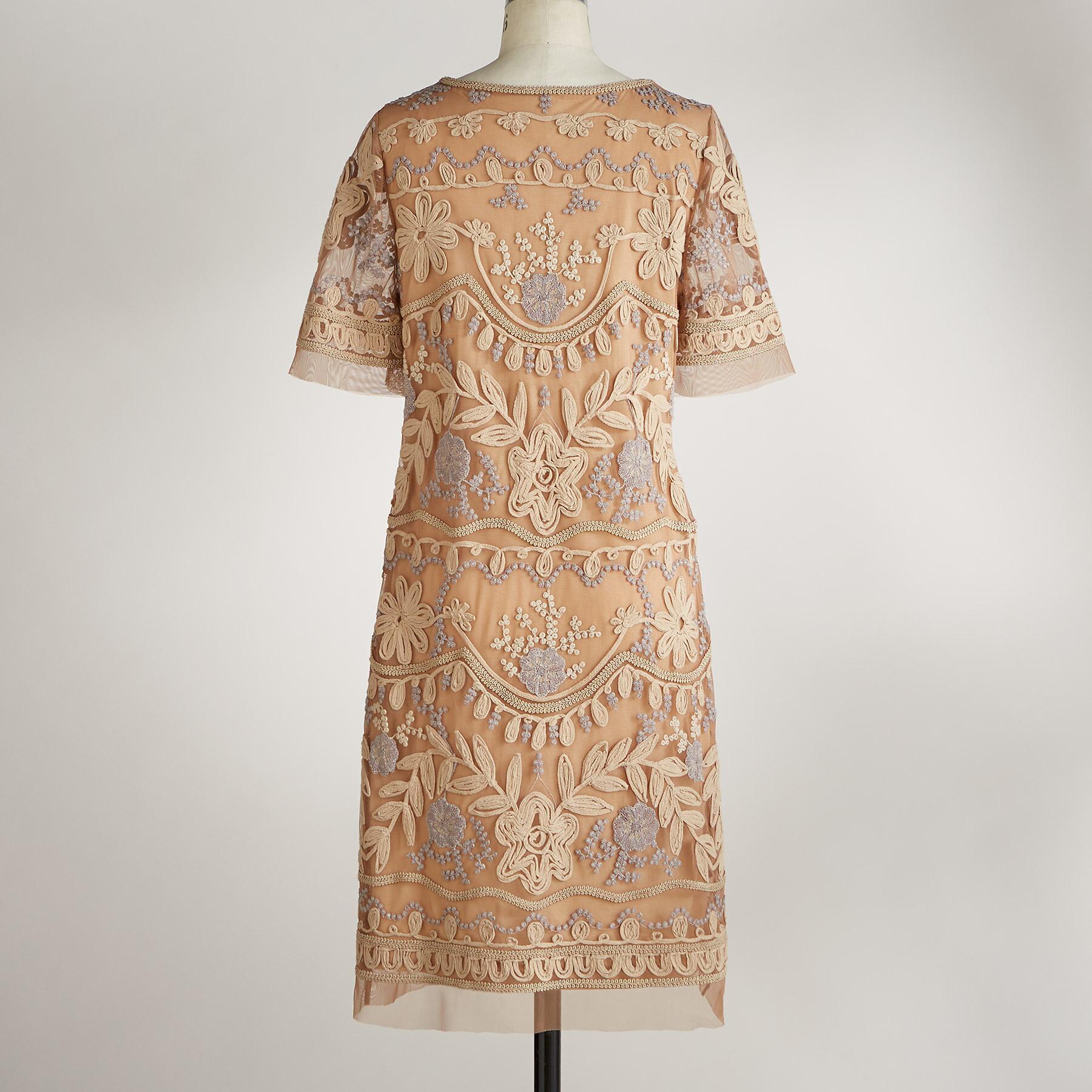 DUCHESS SHIFT DRESS: View 2