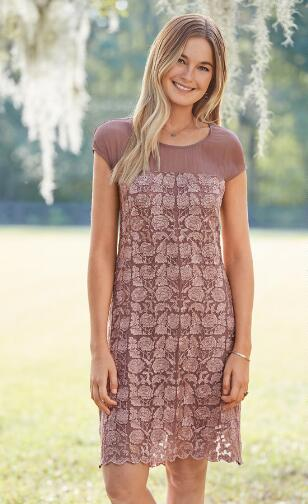 ANGELICA EMBROIDERY DRESS