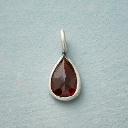 STERLING SILVER CHARMED BIRTHSTONE