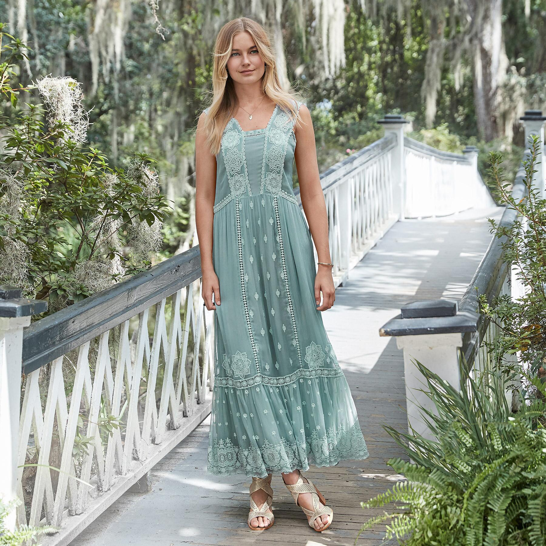 ETHEREAL MOMENTS MAXI DRESS: View 1