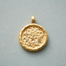 GOLD PLATE CHARMED ZODIAC
