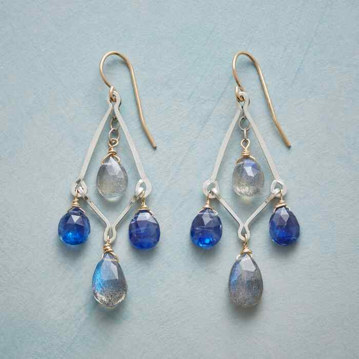 PLAYFUL BLUES EARRINGS
