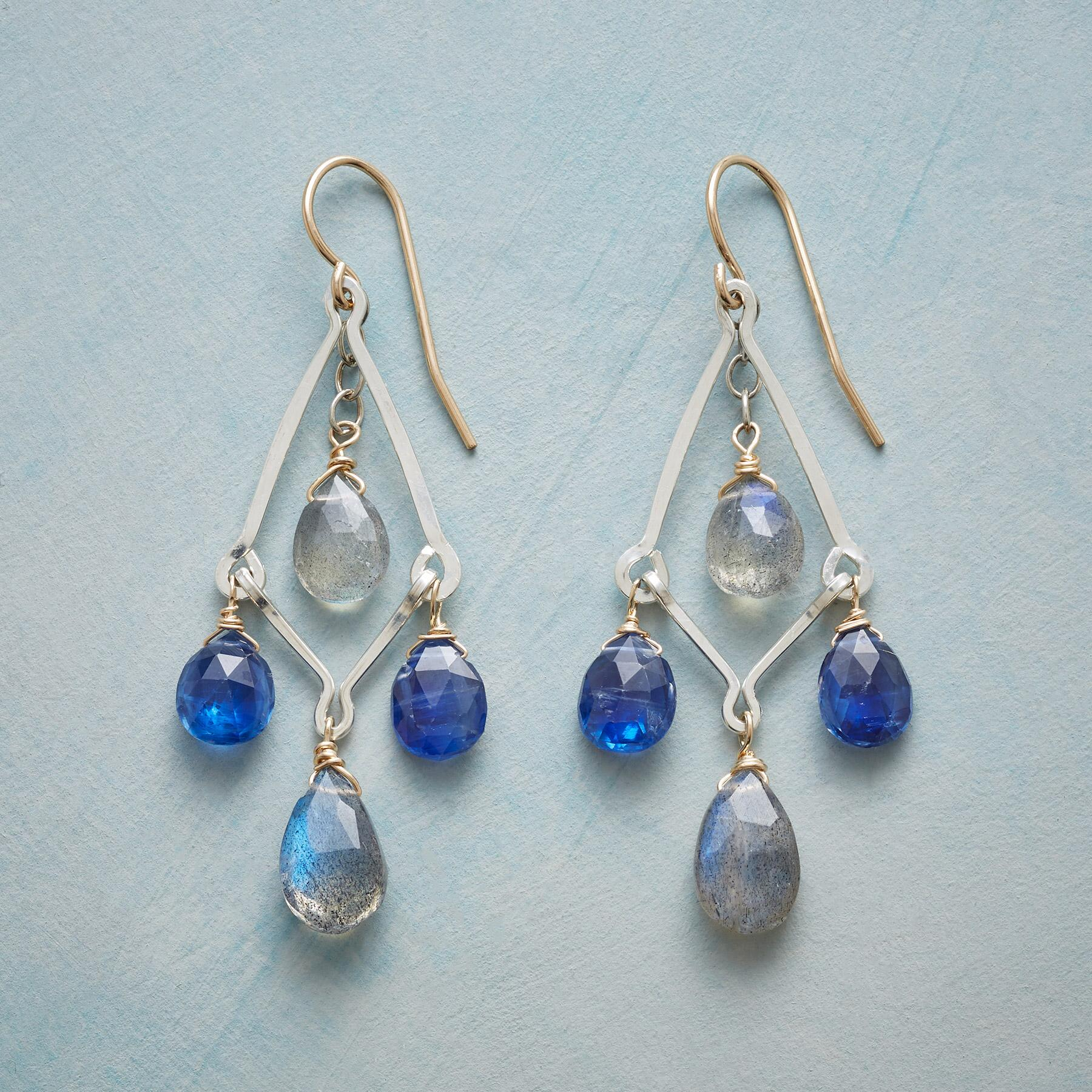PLAYFUL BLUES EARRINGS: View 1