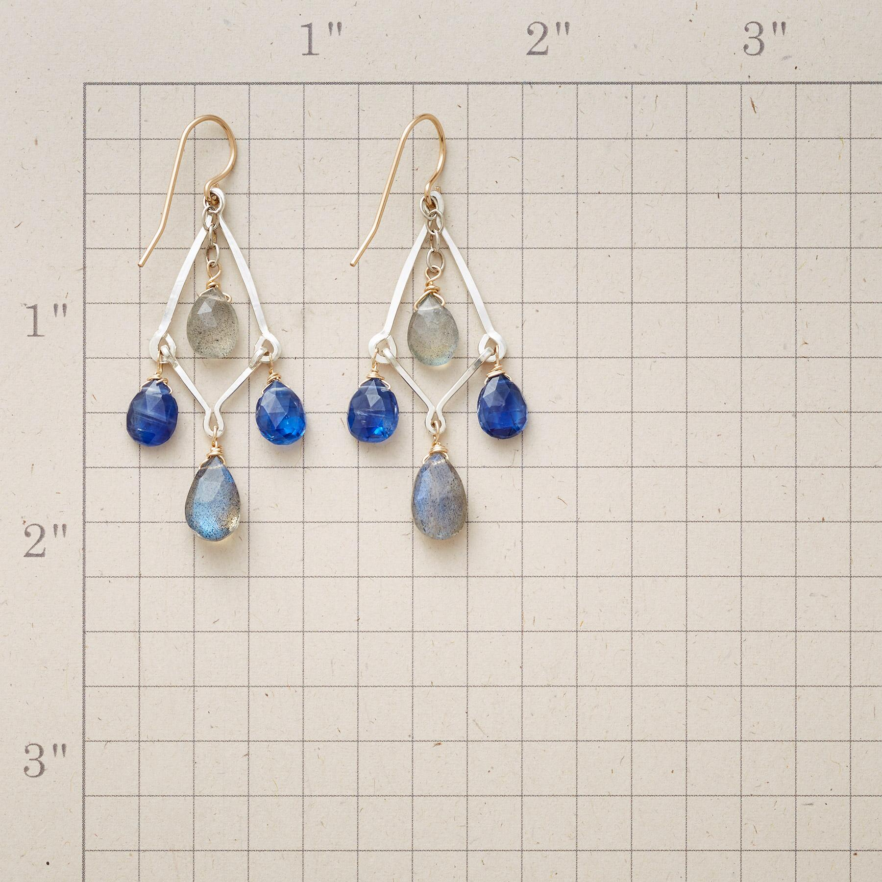 PLAYFUL BLUES EARRINGS: View 2