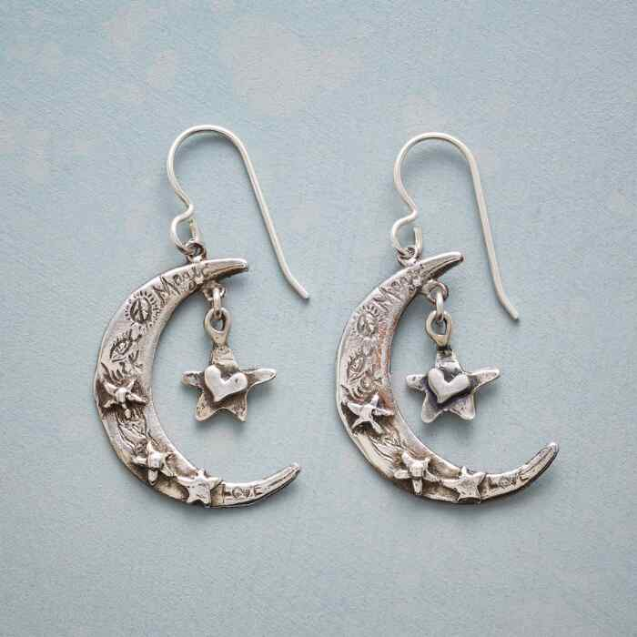 HEARTFELT MOON EARRINGS