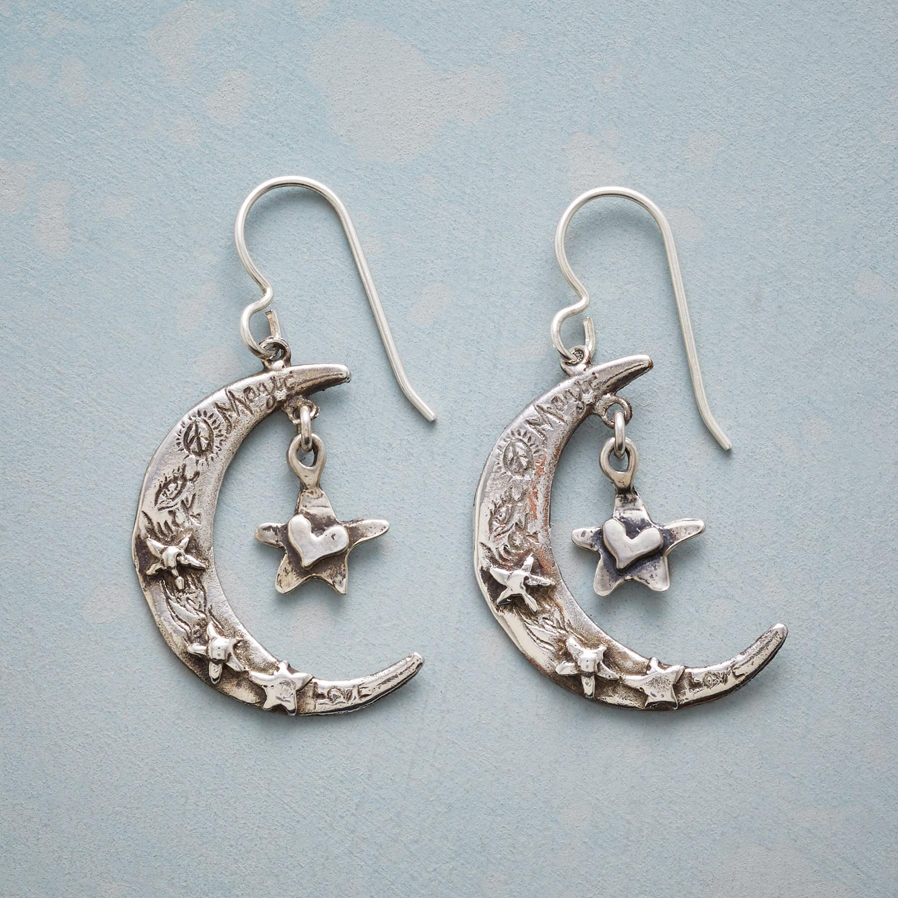HEARTFELT MOON EARRINGS: View 1