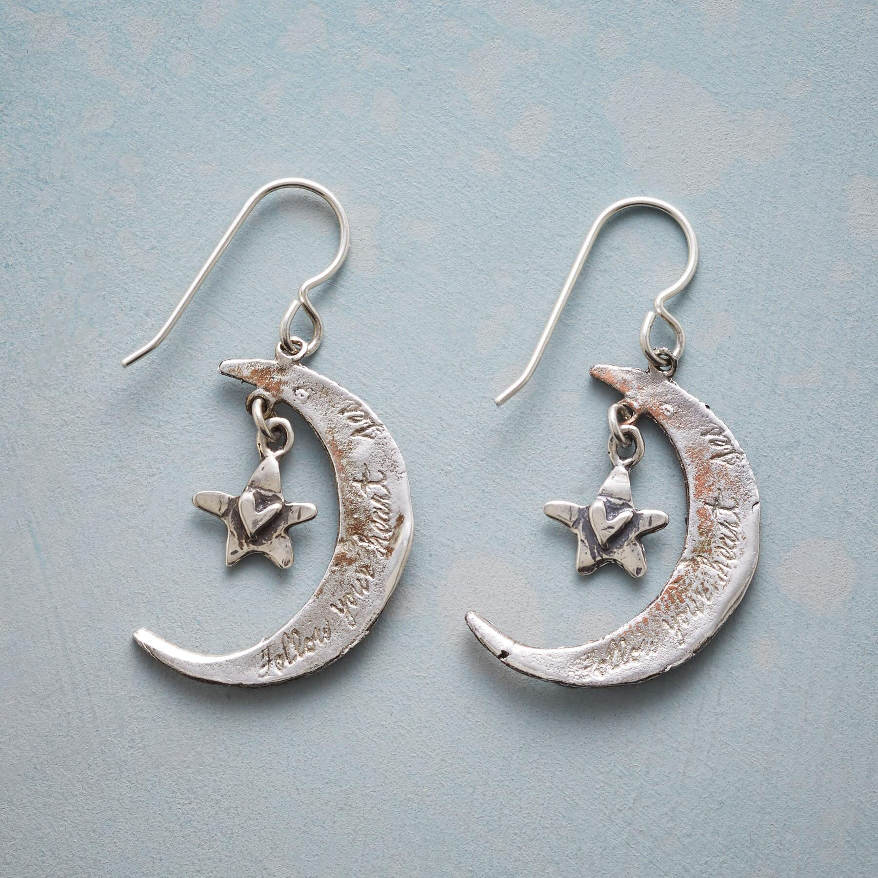 HEARTFELT MOON EARRINGS: View 2