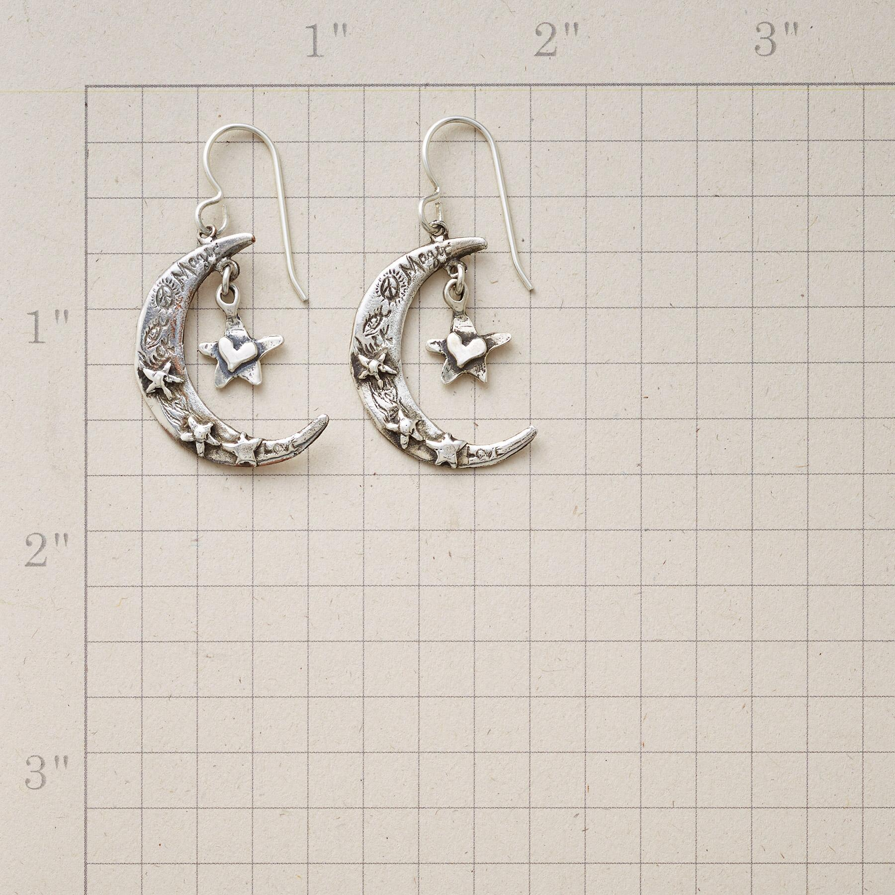 HEARTFELT MOON EARRINGS: View 3