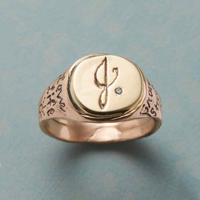 PERSONALIZED LIFE AFFIRMING RING