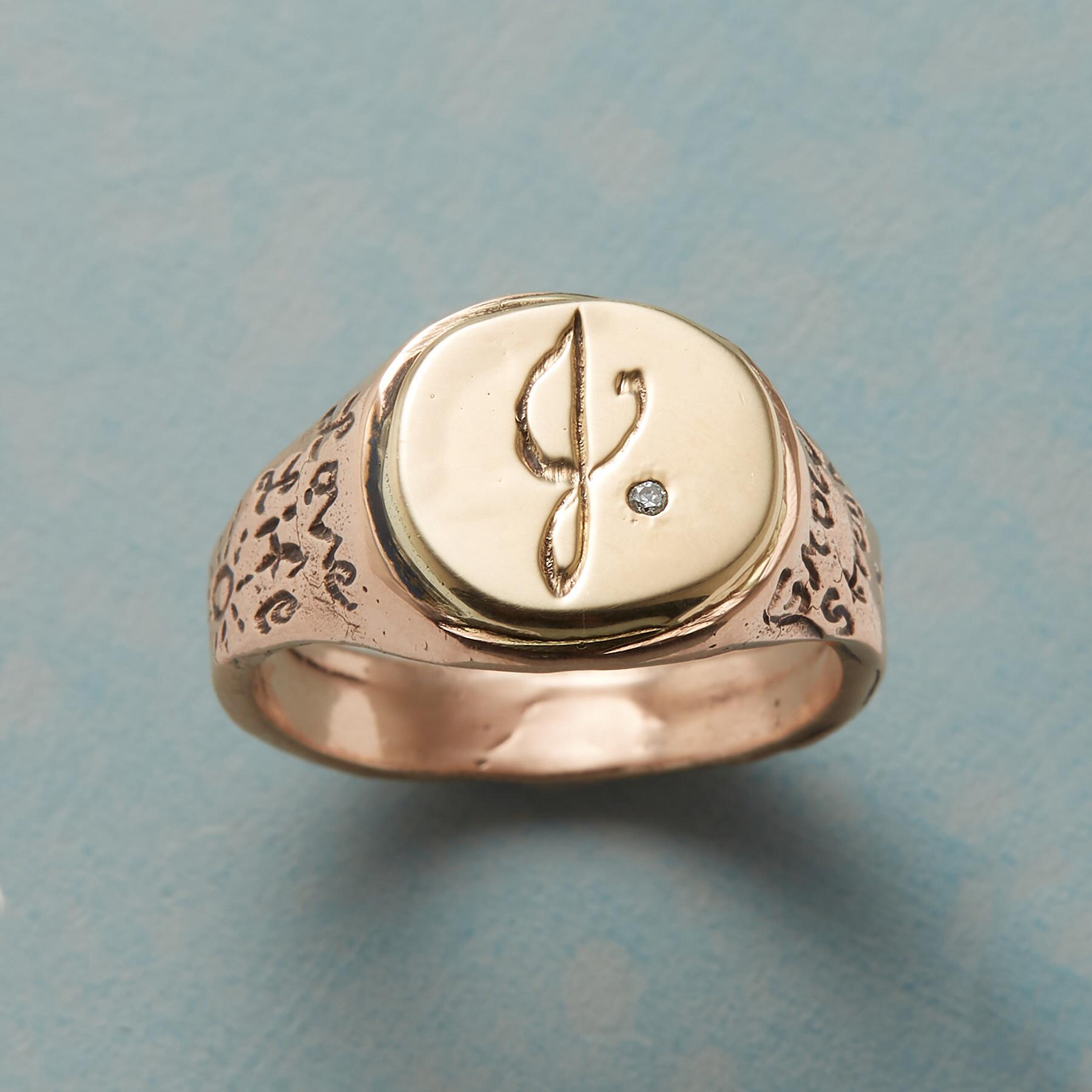 PERSONALIZED LIFE AFFIRMING RING: View 1