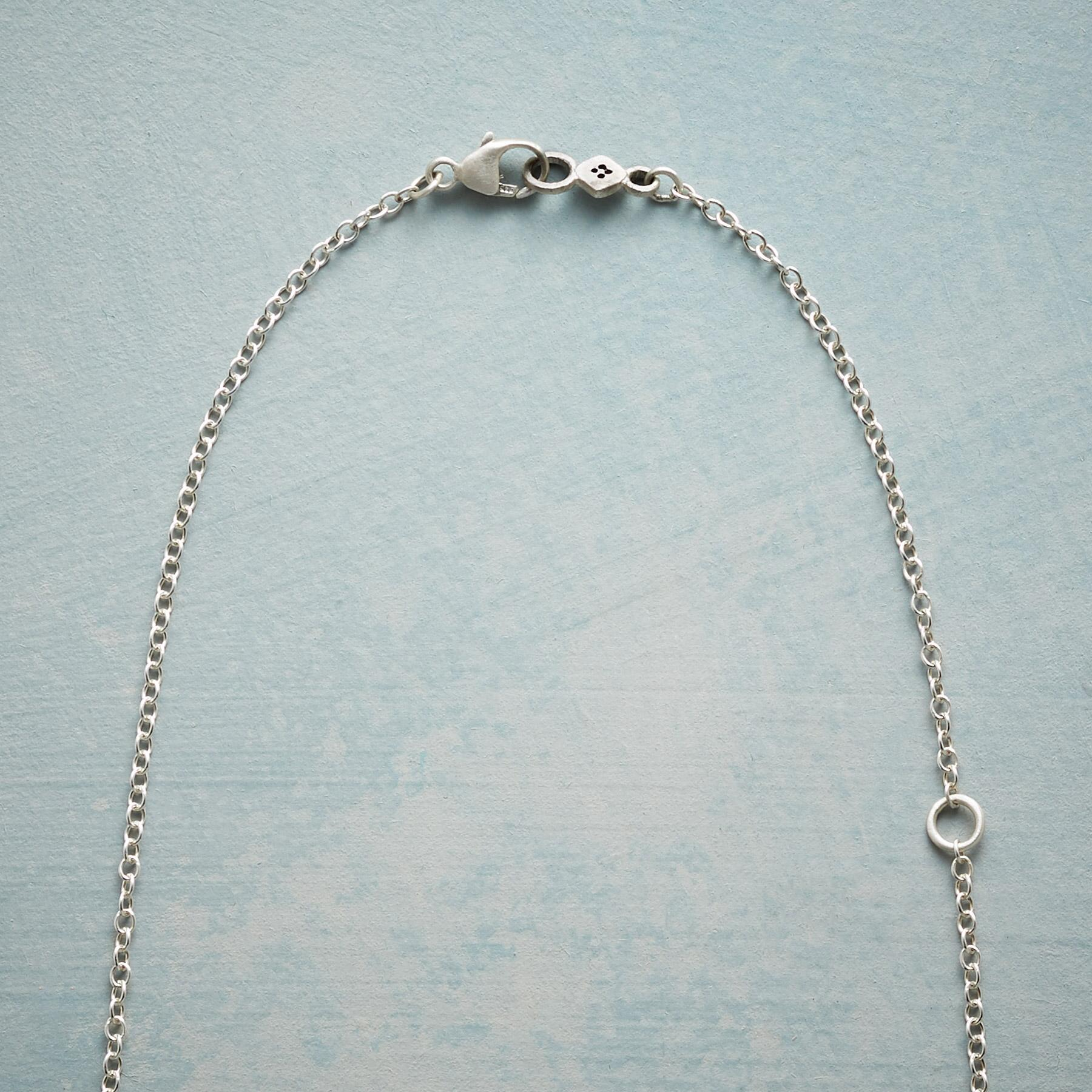 RUBY MOONDROPS & SPARKLE NECKLACE: View 3
