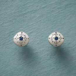 SAPPHIRE MOONDROPS & SPARKLE EARRINGS