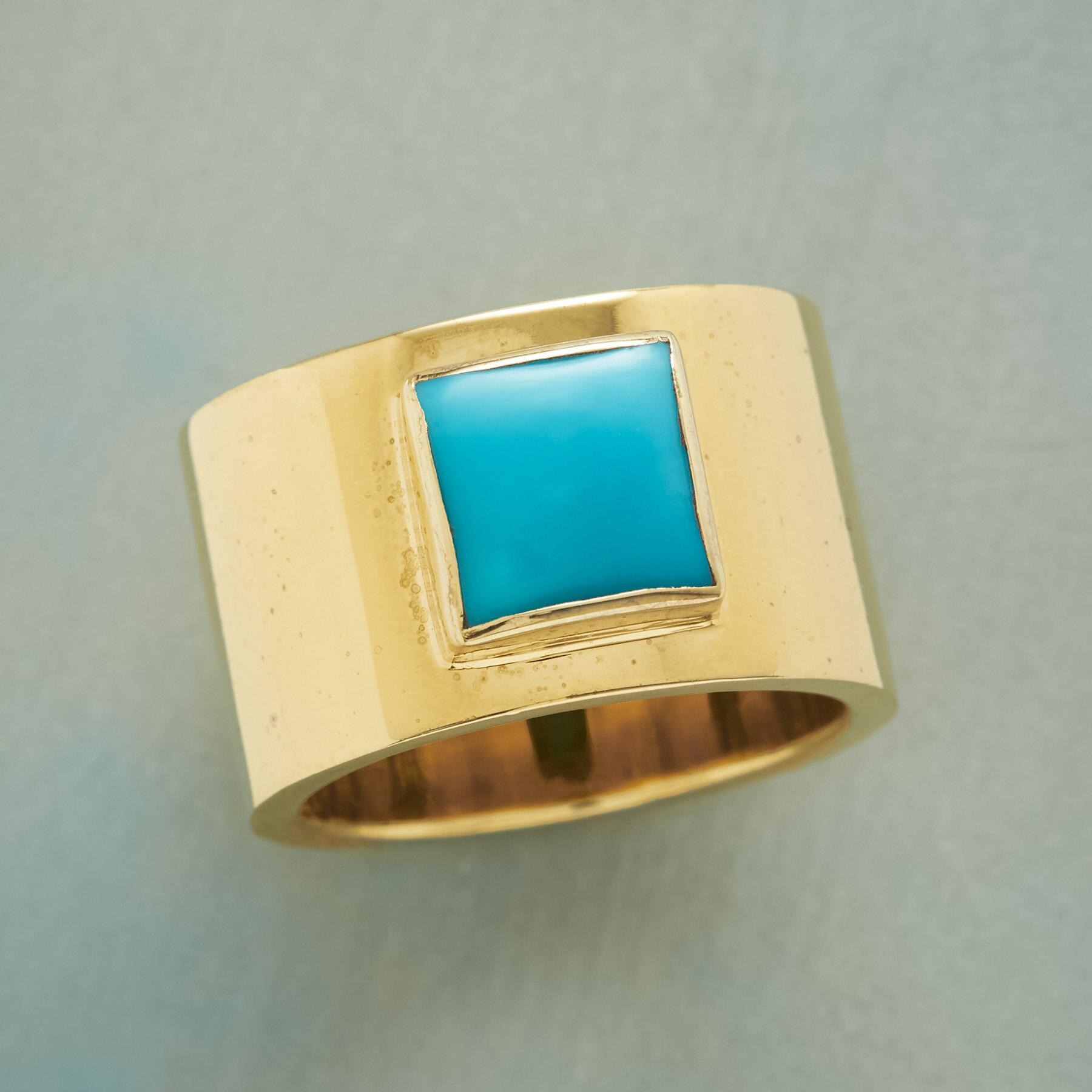 ISLA TURQUOISE RING: View 1