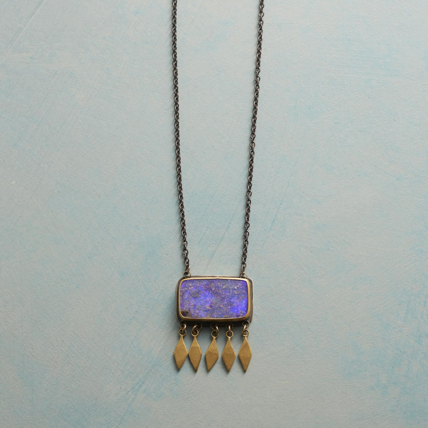 BOULDER OPAL NECKLACE: View 1