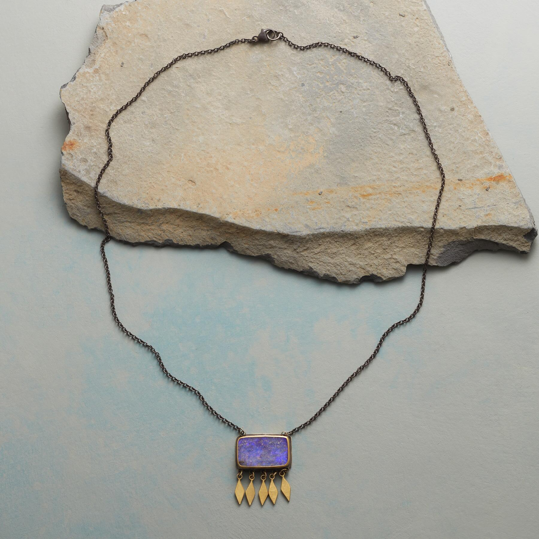 BOULDER OPAL NECKLACE: View 2