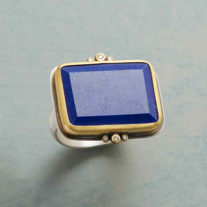 STARLIGHT LAPIS RING